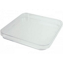 Square Petri Dish 120mm Triple Vent