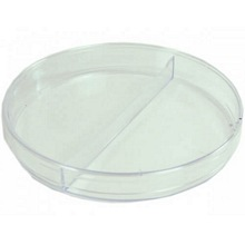 2 Compartment Petri Dish 94mm Triple Vent