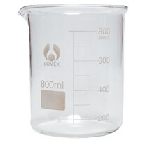 800ml Bomex Glass Beaker