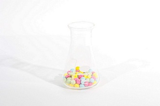 50ml Laboratory borosilicate Glass Erlenmeyer Conical Flask
